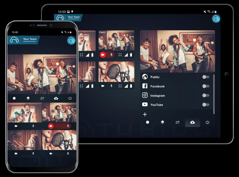 Tubicon app mobile interface